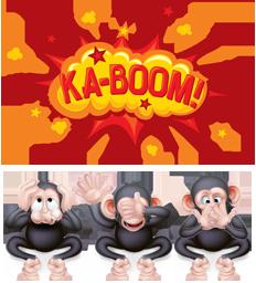 ka-boom monkeys